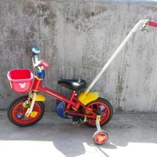 ミッキー&フレンズ補助付き自転車