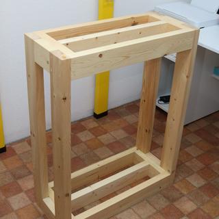 木製水槽台 60センチ規格水槽用 特注ハイタイプ
