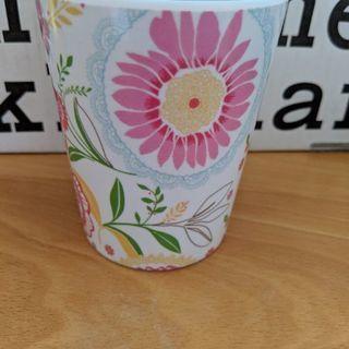 グリーンゲイト メラミンカップ ピンク花柄