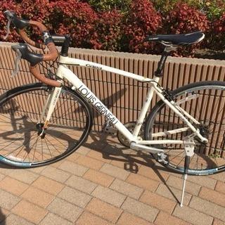 【最終】ルイガノ ロードバイク 自転車 白 ホワイト  自宅保管