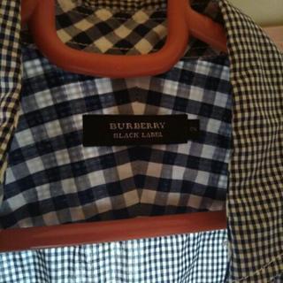 バーバリー七部袖シャツ