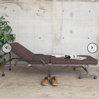 【値下げ】ニトリのシングルベッド