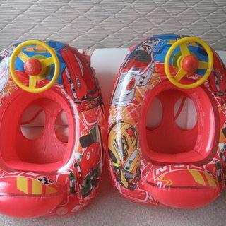 幼児用浮き袋(カーズ柄)
