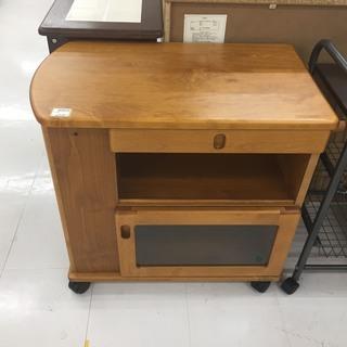 取りに来ていただける方限定!木製のキッチンワゴンのご紹介です!