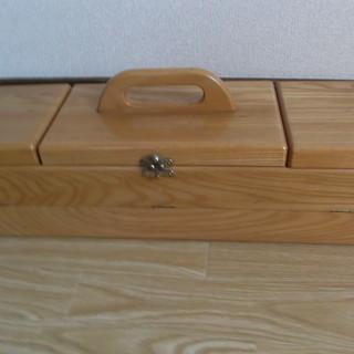 木製 裁縫箱