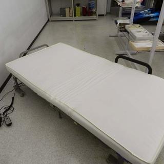 アテックス 収納式 電動 リクライニングベッド シングル …
