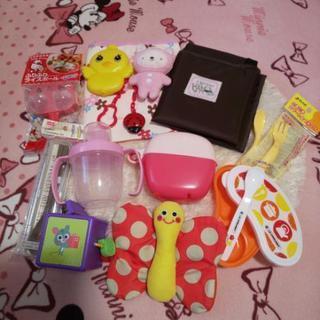 赤ちゃんから使えるおもちゃ&離乳食グッズなどセット^^*