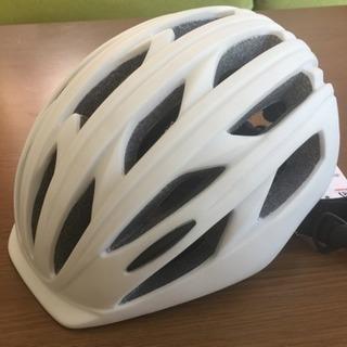 ✨値下げ✨✳︎あさひ ヘルメット ホワイト 新品未使用✳︎