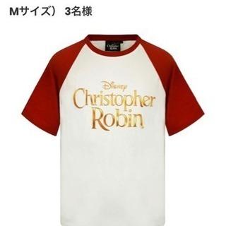 非売品 ディズニー くまのプーさん Tシャツ クリストファーロビン