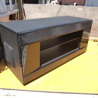 大型液晶テレビも余裕で置けます SONYのテレビ台 中古