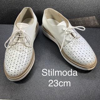 【stilmoda】スティルモーダ パンチングデザインシューズ ...
