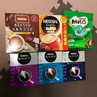 コーヒー、ココアセット