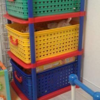 おもちゃ収納コンビネーション