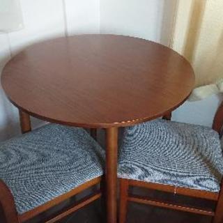 ダイニングテーブル、イスセット