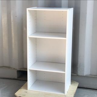 無料で!カラーボックス◇木製棚◇シェルフ◇3段ボックス◇差し上げます