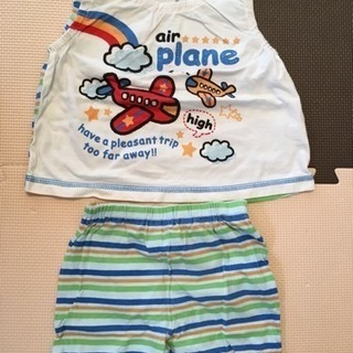 ベビー ノースリーブパジャマ 90cm