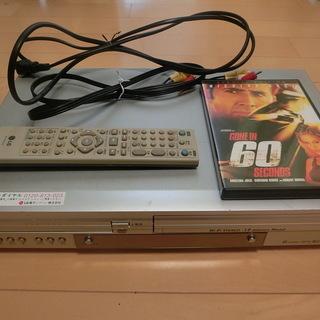 DVDデッキもらって下さい。60seconsのDVDプレゼント