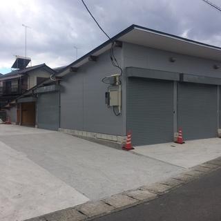 宇都宮 陽東 ベルモール近く バイクガレージ 収納 個人オフィス ...