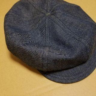 ポンポネット キャスケット帽 使用品 フリーサイズ