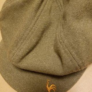 ルコックスポーティフ  キャスケット帽 使用品 フリーサイズ