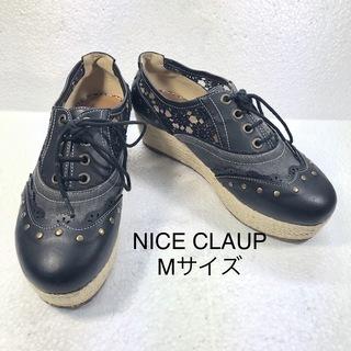【NICE CLAUP】ナイスクラップ レディース厚底シューズ 2...