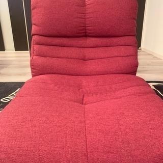 取引中★座椅子  ローズ、グリーン2色セット