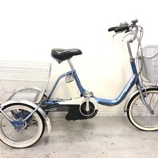 ブリジストンアシスタワゴン6Ahリチュウム電動自転車中古