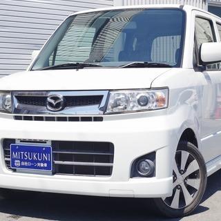 マツダ AZワゴン カスタムスタイル 2WD X パール 自社ロ...