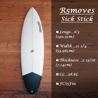 SALE【新品】サーフボード R5MOVES SICK STICK...