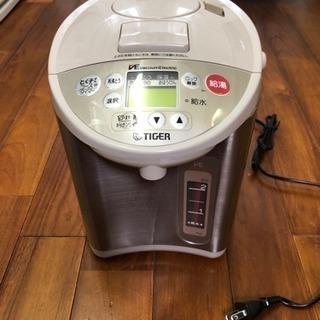 値下げ!  タイガー  電気湯沸かし器  3L