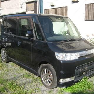 H18タント カスタムX 黒 車検2年付