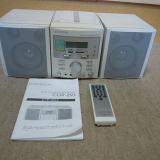 交渉中EXEMODE SD/CDマルチコンポ CDR-291 ミ...