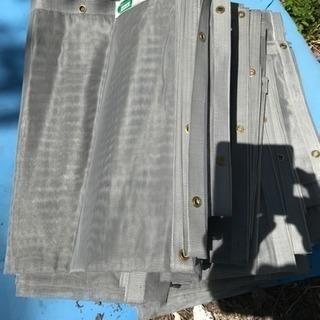外壁塗装時飛散防止用メッシュ