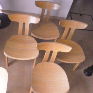 ◎◎ 飛騨の家具メーカー シラカワ ◎◎ 椅 子 4 脚 セ ッ ト