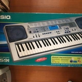 CASIO キーボード CTK-591