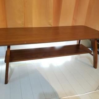 ニトリ 木目調ほっこりするセンターテーブル