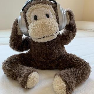 猿の人ぬいぐるみ