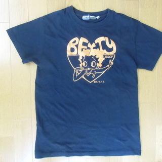 値下げ⤵ ベティちゃん Tシャツ(黒)*美品3⃣