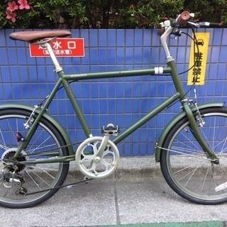 【リサイクル】ミニベロ アサヒサイクル シークレッドコード206