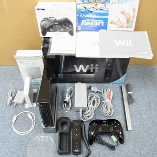 Wiiセット ソフト2本付属 ダウンロードソフト4本内蔵 Wi-...