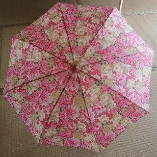 花柄 折り畳み傘 未使用