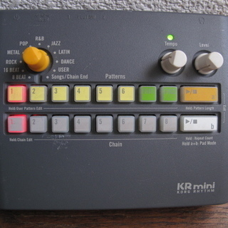 KORG KR mini リズムマシン