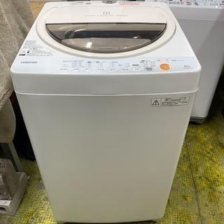 洗濯機 東芝 6㎏洗い AW-60GL 1人~2人用 2013年 ...