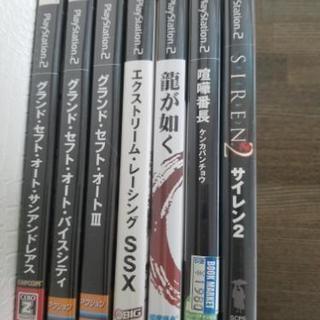 【取引中】PS2ゲームソフト