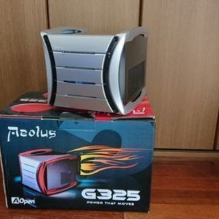 AOPEN G325/キューブ型PCケース(電源非搭載)
