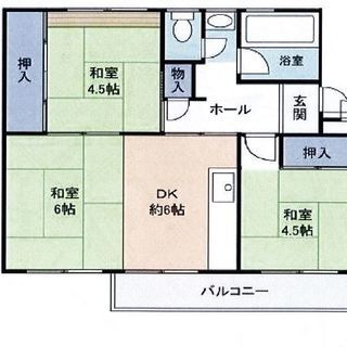 敷金礼金ゼロゼロ3DK 家賃3.2万円 共益費0.5万円 仲介手数料不要