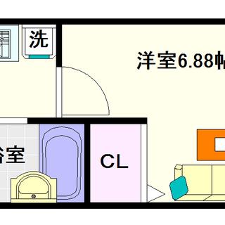 【桜川Zenshin,BLD】1号タイプ!1Kタイプ!駅が近いって...