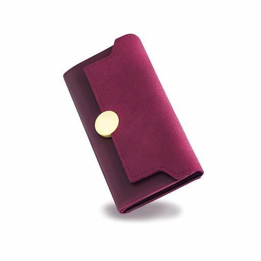 b5648d87500d SUAYEA 財布 レディース 長財布 三つ折り PUレザー ウォレット カード収納 大容量 小銭入れ