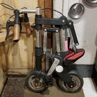 【値下げ】折り畳み式自転車 珍品