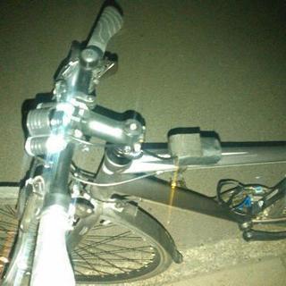 新品 自転車用、充電式LEDライト 1セット